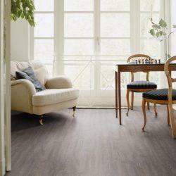 Grey Oak LVT flooring