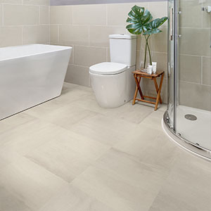 how to install vinyl flooring in a bathroom