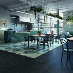 contemporary flooring