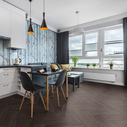 herringbone vinyl click flooring