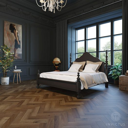 Invictus Highland Oak Parquet Chocolate