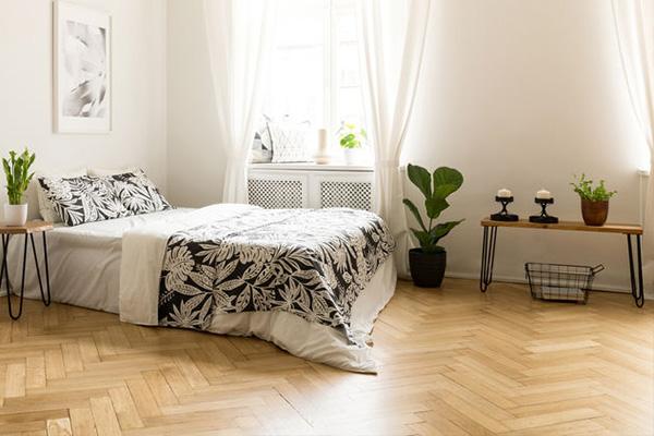 image of decorative vinyl flooring