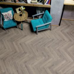 Tarkett Rustic Oak Medium Grey Parquet
