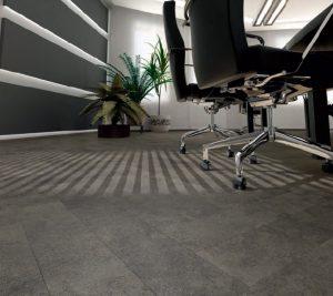Tarkett Inspiration Black Tile Parquet