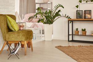 Where to start laying vinyl plank flooring